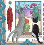 Cats southwest art #132